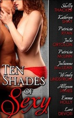 Ten Shades of Sexy features a steamy scene from Julie Ortolon